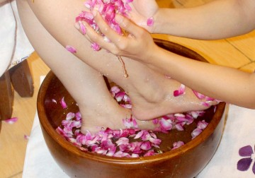 Image Herbal Foot Spa