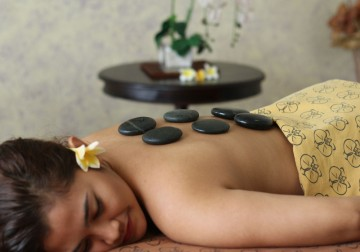 Image Orchid Hot Stone Massage