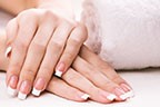Image Nail Acrylic / Gel Extension French Tip