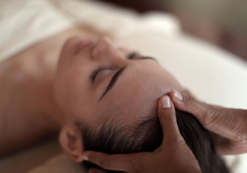Image Stress Relief Back Massage