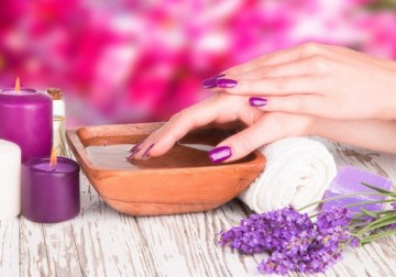 Image Orchid Manicure
