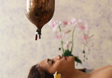 Image Orchid Shirodara Massage