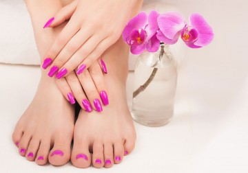 Image Spa Manicure / Pedicure (not include nail polish)