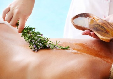 Image Aloevera Sunburn Massage