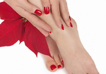 Image Pedicure CND Shellac