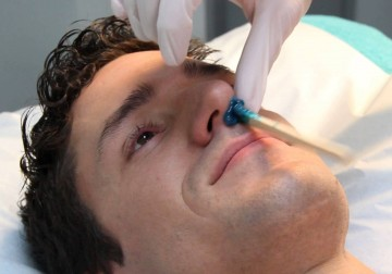 Image Waxing for Male Nose