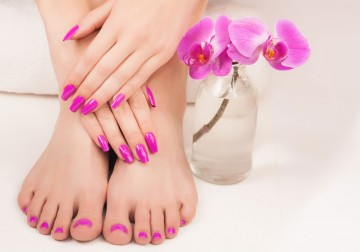 Image Manicure or Pedicure