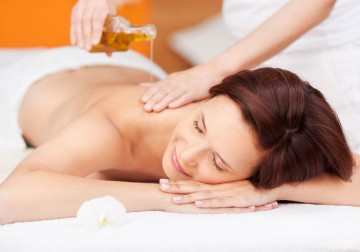 Image Body Massage with Aroma Therapy