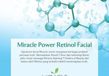 Image Miracle Power Retinol Facial